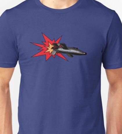 Rocket propelled pop art! Unisex T-Shirt