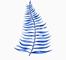 Navy Palm Leaf Unisex T-Shirt
