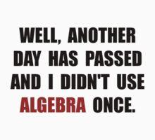 Algebra Once Kids Tee