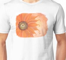 Orange Sunshine flower Unisex T-Shirt