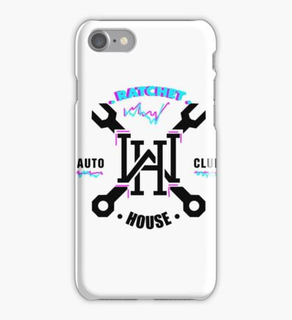 Ratchet House (Wrench House Spoof) iPhone Case/Skin