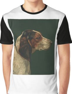 Reproduction vintage dog painting Graphic T-Shirt