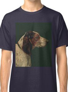 Reproduction vintage dog painting Classic T-Shirt
