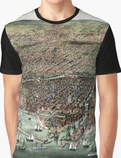 The city of Chicago-1892 Graphic T-Shirt