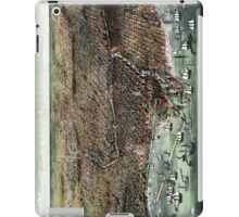 The city of Chicago-1892 iPad Case/Skin
