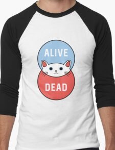 Schrodinger's Cat! Men's Baseball ¾ T-Shirt