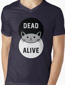 Schrodinger's Cat: Dead or Alive! Mens V-Neck T-Shirt