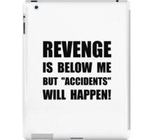 Revenge Accidents iPad Case/Skin