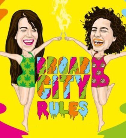 Broad City Rules Sticker