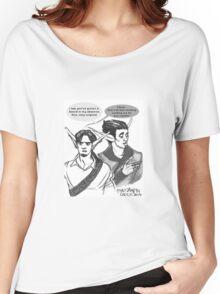 Phoenix&Razer Throwing Shade Women's Relaxed Fit T-Shirt
