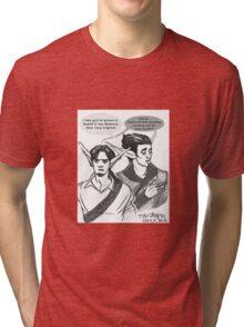 Phoenix&Razer Throwing Shade Tri-blend T-Shirt