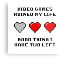Video Game Life Metal Print