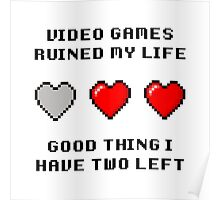 Video Game Life Poster