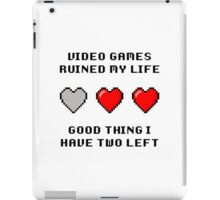 Video Game Life iPad Case/Skin