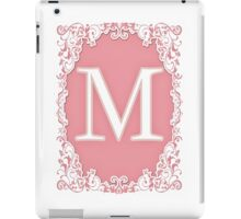Letter 'M' Of The Alphabet iPad Case/Skin