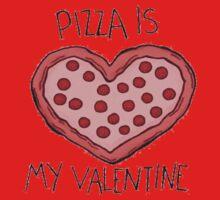 Pizza is my valentine Baby Tee