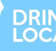 Washington Drink Local WA Blue Sticker