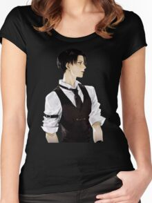 Levi Ackerman Women's Fitted Scoop T-Shirt