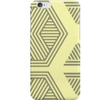 Halftone Pattern Yellow iPhone Case/Skin
