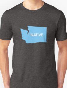 Washington Native WA Blue Unisex T-Shirt