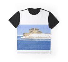 Main Building of Niagara Fort USA. Graphic T-Shirt