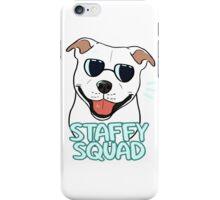 STAFFY SQUAD (white) iPhone Case/Skin