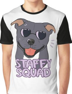 STAFFY SQUAD (blue) Graphic T-Shirt