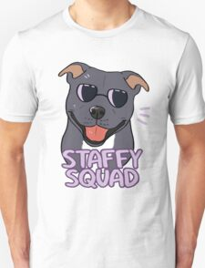 STAFFY SQUAD (blue) Unisex T-Shirt