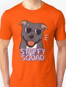 STAFFY SQUAD (blue) Unisex T-Shirt