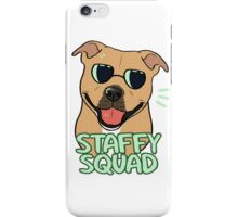 STAFFY SQUAD (red) iPhone Case/Skin