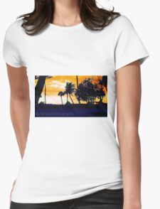 fb/kinkatcelltography - Naples Cracker Storm Womens Fitted T-Shirt