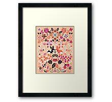 Bunny Lovers Framed Print