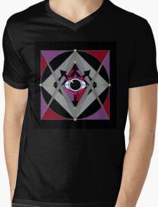 Secret Compass 333 Mens V-Neck T-Shirt