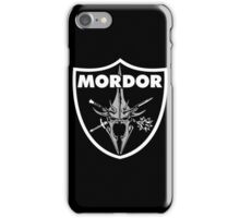 Mordor Badge iPhone Case/Skin