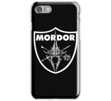 Mordor Badge iPhone Case/Skin