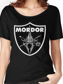 Mordor Badge Women's Relaxed Fit T-Shirt