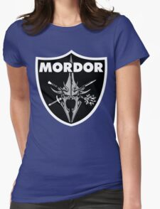 Mordor Badge Womens Fitted T-Shirt