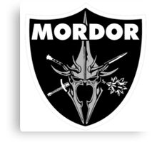 Mordor Badge Canvas Print