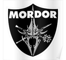 Mordor Badge Poster