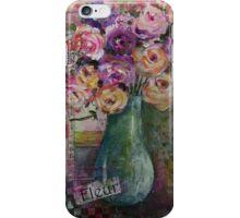 Fleur still life iPhone Case/Skin