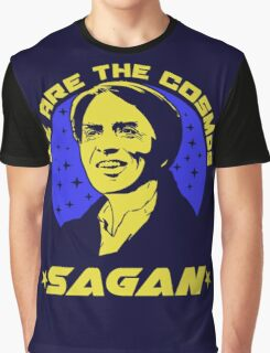 We Are The Cosmos Sagan Quote Graphic T-Shirt