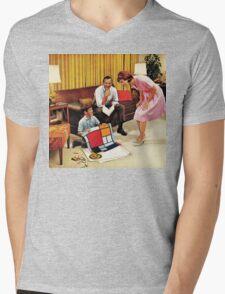 Composition Mens V-Neck T-Shirt