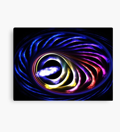 Midnight Swirl Canvas Print