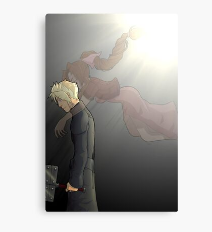 embrace of the angel Canvas Print