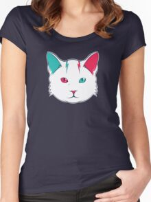 Zak the Cat Women's Fitted Scoop T-Shirt