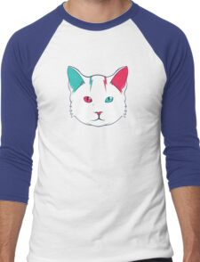Zak the Cat Men's Baseball ¾ T-Shirt