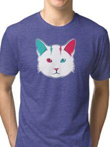 Zak the Cat Tri-blend T-Shirt