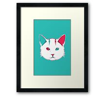 Zak the Cat Framed Print