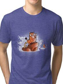 The little Phacochoerus Tri-blend T-Shirt