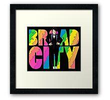 Broad City Ilana Tux Framed Print